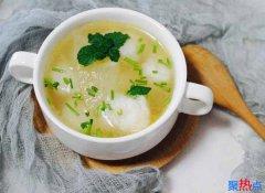 冬瓜木耳香菜汤可以减肥吗