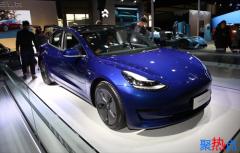 2019广州车展:特斯拉Model3首次正式亮相