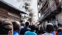 一架飞机在刚果东部城市坠毁 已致