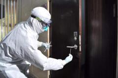 门把手上测出新型冠状病毒