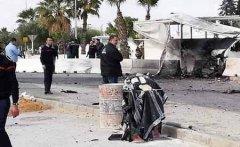 美国驻突尼斯大使馆附近发生自杀