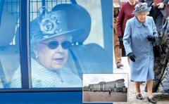 担心感染英国女王离开白金汉宫