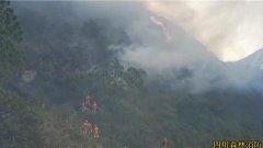 四川凉山再发森林火灾