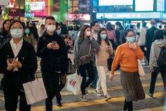 香港66岁女子新冠病毒初检呈阳性
