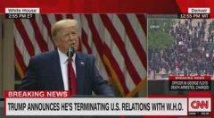 特朗普宣布对华制裁措施