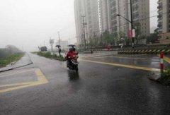 上海发暴雨蓝色预警
