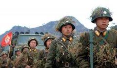 朝鲜军队备战状态