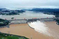 最大洪水抵达三峡