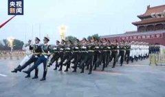 八一天安门广场升旗仪式