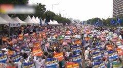 韩国数万名医生集体罢工