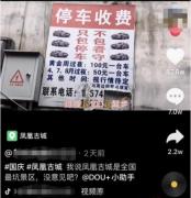 官方回应凤凰古城停车费百元起步