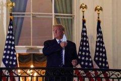 特朗普出院返回白宫