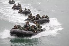台方证实美海军陆战队来台