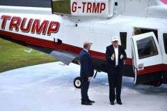 特朗普出售其私人直升机