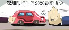 深圳限行时间2020最新规定