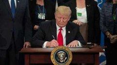 """特朗普正式签署""""台湾保证法"""""""