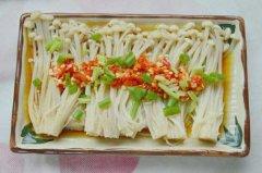 金针菇怎么做好吃 金针菇的做法大全