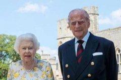 英国女王夫妇接种新冠疫苗