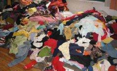 回收旧衣服一年赚200万