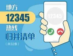 12345是什么电话