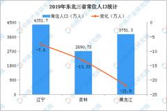 东北三省一年减少42.73万人