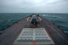 中美军舰11日同时现身台东兰屿外海
