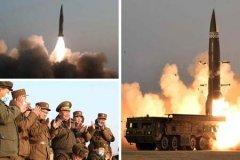朝鲜进行新型战术导弹试射