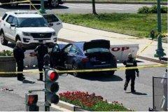 美国国会大厦附近发生袭警事件
