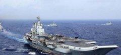中国航母编队进入太平洋