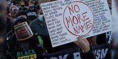 美多地民众抗议警察暴力执法