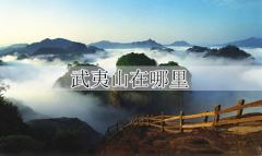 武夷山在哪里