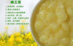 蜂王浆的作用和功效