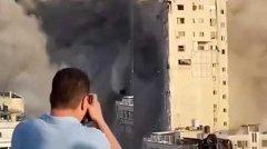 以色列空袭哈马斯总部大楼