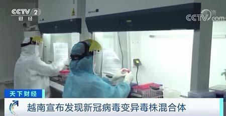 越南出现更危险的变异病毒