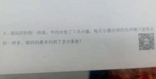 小学数学题惊动武汉市教育局