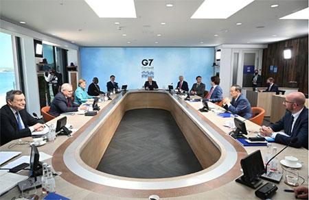 G7领导人和拜登就中国问题发生争执