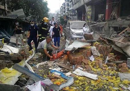十堰燃气爆炸事故致25死 8人被刑拘