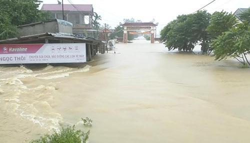 河南洪涝灾害已致33人遇难8人失踪