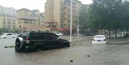 新乡遇极强降雨47万余人受灾