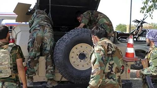 塔利班已占领阿富汗18个省会