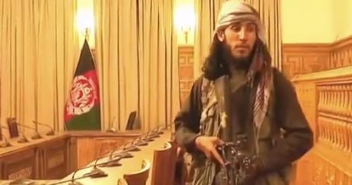塔利班占领阿富汗总统府