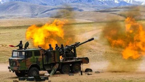 解放军西藏大练兵警告印度