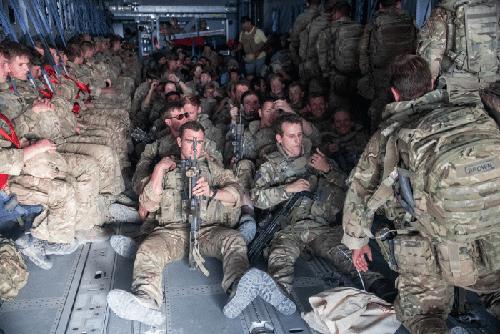 英军完全撤离阿富汗