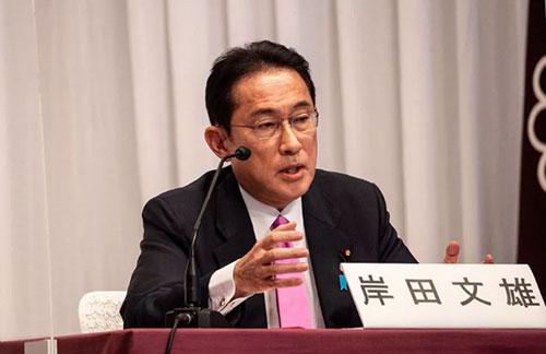 岸田文雄当选日本自民党总裁